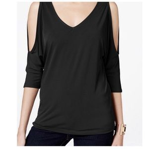 I.N.C cold shoulder top